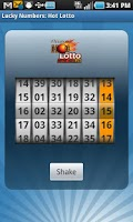 Screenshot of OK Lottery