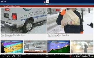Screenshot of NBC Philadelphia