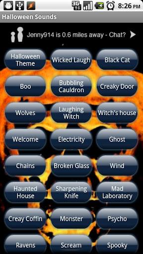 Halloween Ringtone SMS Sounds