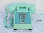 Desk Phones - Western Electric 1500 Turquoise