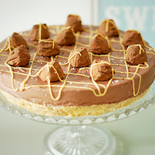 Salted Caramel Chocolate Tort
