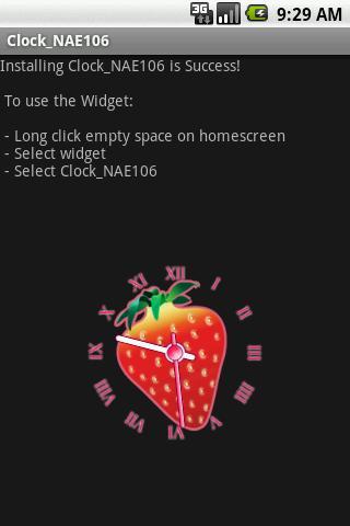 Widget Clock_NAE106