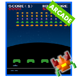 Invaders from Androidia - play classic 'Space Invaders' on Android