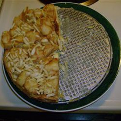 Apple Almond Cheesecake