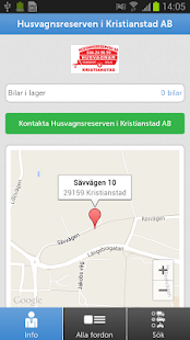 Husvagnsreserven AB - screenshot