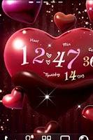 Screenshot of Heart Choco Live Wallpaper