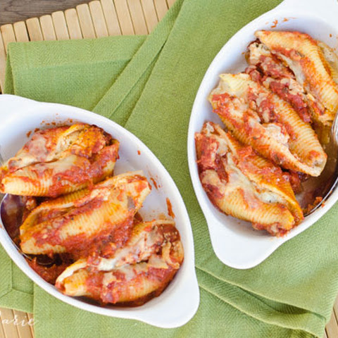 Manicotti Stuffed Shells