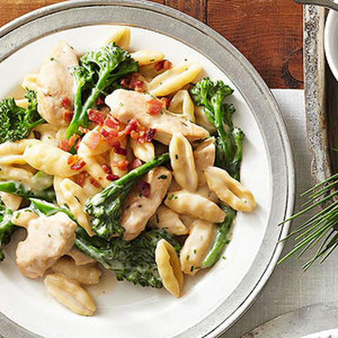 Chicken and Broccolini Cavatelli
