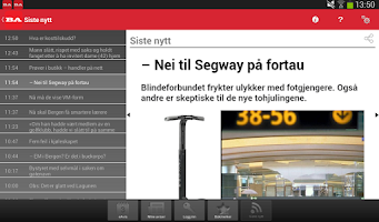 Screenshot of Bergensavisen