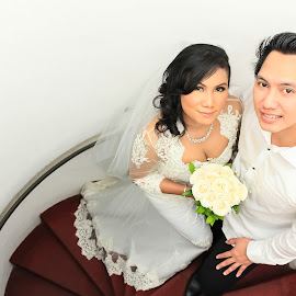 Sony and Wulan Wedding Photo by Lazy Painter - Wedding Bride & Groom