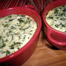 Spinach-Rice Bake