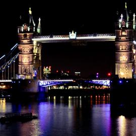 Tower Bridge, London by Rajendran C - Buildings & Architecture Bridges & Suspended Structures ( thames, london bridge, london, tower bridge )