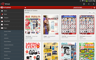 Screenshot of RFD web (RedflagDeals)