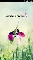 Screenshot of vente-privee