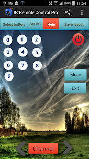 IR Remote Control Pro - screenshot
