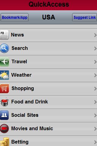 Startpage for Mobile