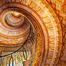 Monastery Melk Stairs by Johana Starová - Buildings & Architecture Public & Historical
