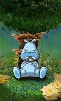 Screenshot of Sleepy Hippo Live Wallpaper
