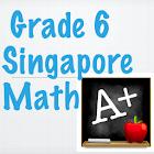 Grade 6 Singapore Math icon