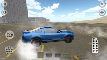 Screenshot of Extreme Muscle Car Simulator