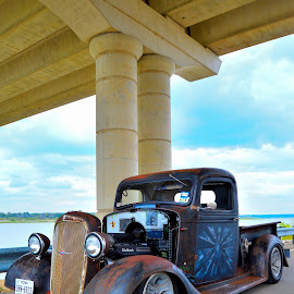 Underpass Observation by Kevin Dietze - Transportation Automobiles