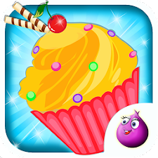 Make Cup Cakes - Kids Game