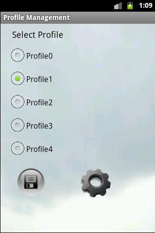 Profile Management