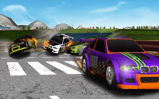 Screenshot of 3D Car Racing Drift
