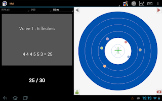 Screenshot of Archery Score