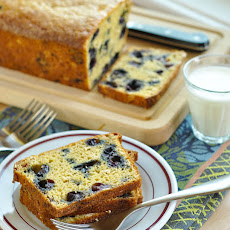 Blueberry-Oat Quick Bread