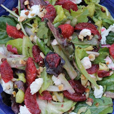 Blood Orange, Fennel, Goat Cheese and Hazelnut Salad