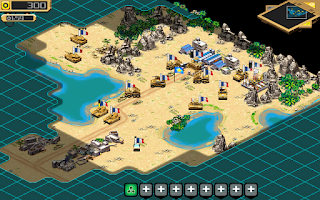 Screenshot of Desert Stormfront - RTS