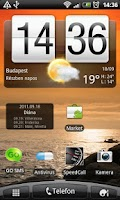 Screenshot of Magyar Névnapok