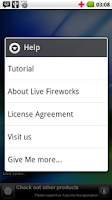 Screenshot of Live Fireworks