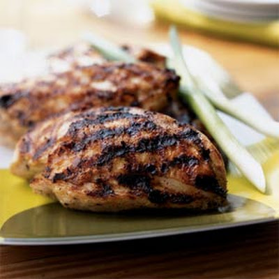 Five-Spice Chicken Breasts with Hoisin Glaze