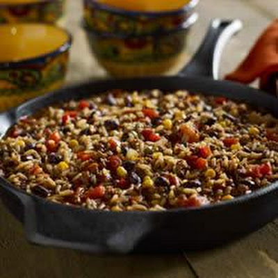 Black Beans and Rice Chili
