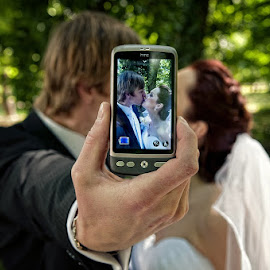 Mobile by Tomáš Paule - Wedding Bride & Groom ( wedding )