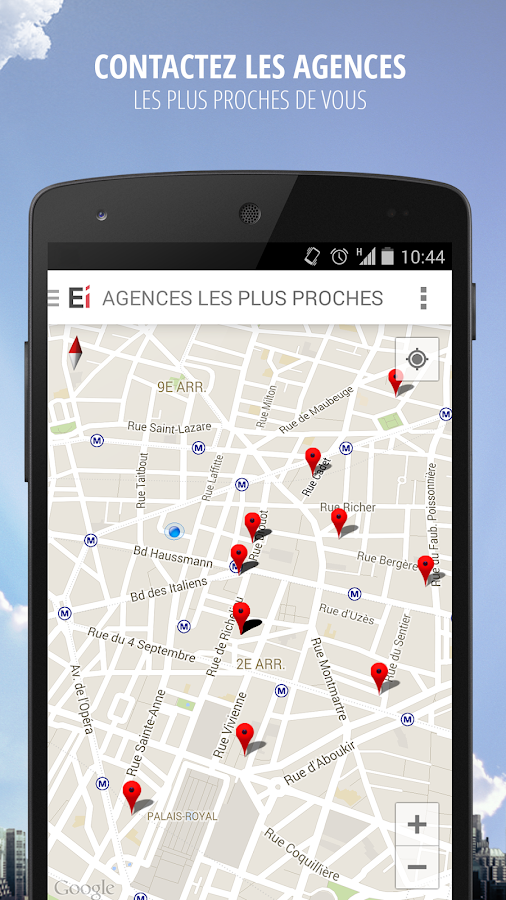 Explorimmo – Immobilier Screenshot 3