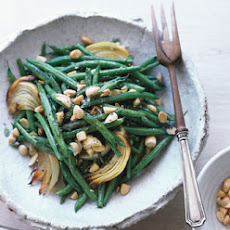 Lemon-Roasted Green Beans with Marcona Almonds