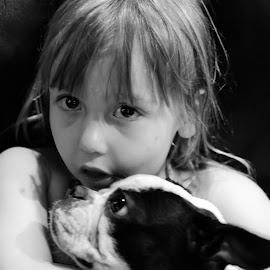 Boo and Harlee by Jacques Mongis - Babies & Children Child Portraits