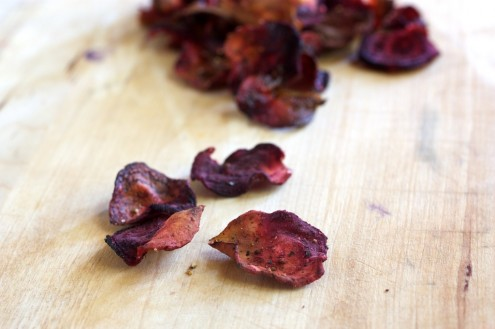 Baked Beet Chips Recipe | Yummly