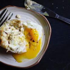 Croque Madame..Baked Chicken & Egg dish.
