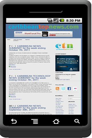 Caribbean Top News