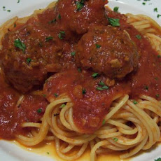 Spaghetti Sauce and Meatballs