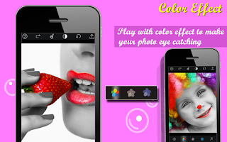 Screenshot of Color Splash Photo