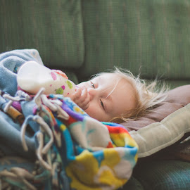 tired by Rebecca Koch - People Family ( child, natural light, family, sleepy, photo )