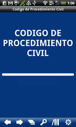 Chile Civil Procedure Code