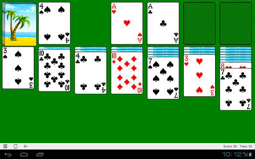 Classic Solitaire HD - screenshot