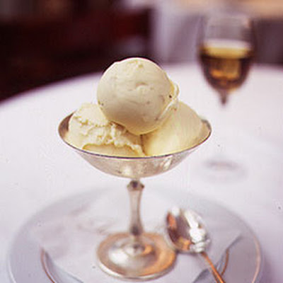 Cream Gelato with White Truffles