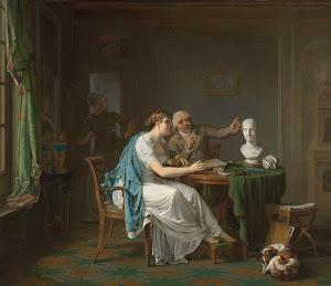 RIJKS: Louis Moritz: The Drawing Lesson 1808